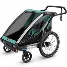 Коляска велоприцеп Thule Chariot Lite2 для двойни. Характеристики.