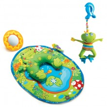Игровой коврик Tiny Love Лягушка арт. 370 + Подвеска. Характеристики.
