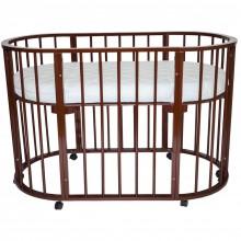 Кроватка для новорожденного Valle Domenica 9в1. Характеристики.