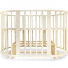 Кроватка для новорожденного Valle Mimi 6 в 1 маятник. Характеристики.