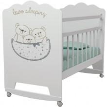 Детская кроватка ВДК Love Sleeping колесо-качалка