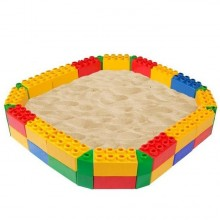 Песочница Wader Конструктор Lego