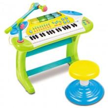 Игрушка Weina Электронное пианино со стульчиком 2079. Характеристики.