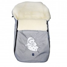 Конверт из овечьей шерсти Womar S77 Exlusive Bear melange fabric