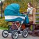 Классическая коляска 2 в 1 Lonex Julia Baronessa ракурс 21