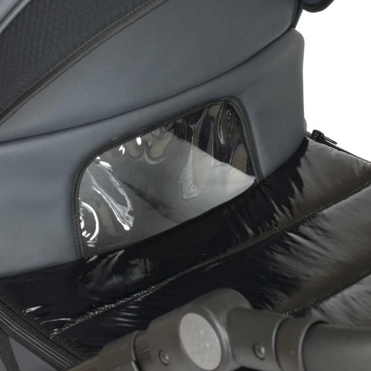 Смотровое окошко в отвороте на люльке