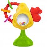 Игрушка Chicco Для стульчика Мышка с сыром и крекерами