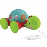 Игрушка Fisher-Price Обучающая Черепашка на колесиках. Характеристики.