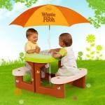 Столик Smoby Пикник с зонтиком. Характеристики.