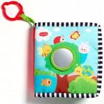 Игрушки Tiny Love Текстурированная книжка-подвеска Лесное озеро. Характеристики.