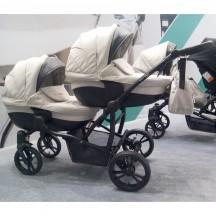 статья: Обновленная коляска для двойни Bebetto 42 New
