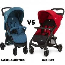 статья: Carrello Quattro и Joie Muze сравниваем