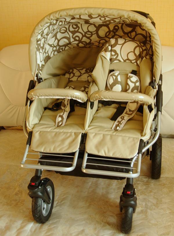Mikado коляски для двойни